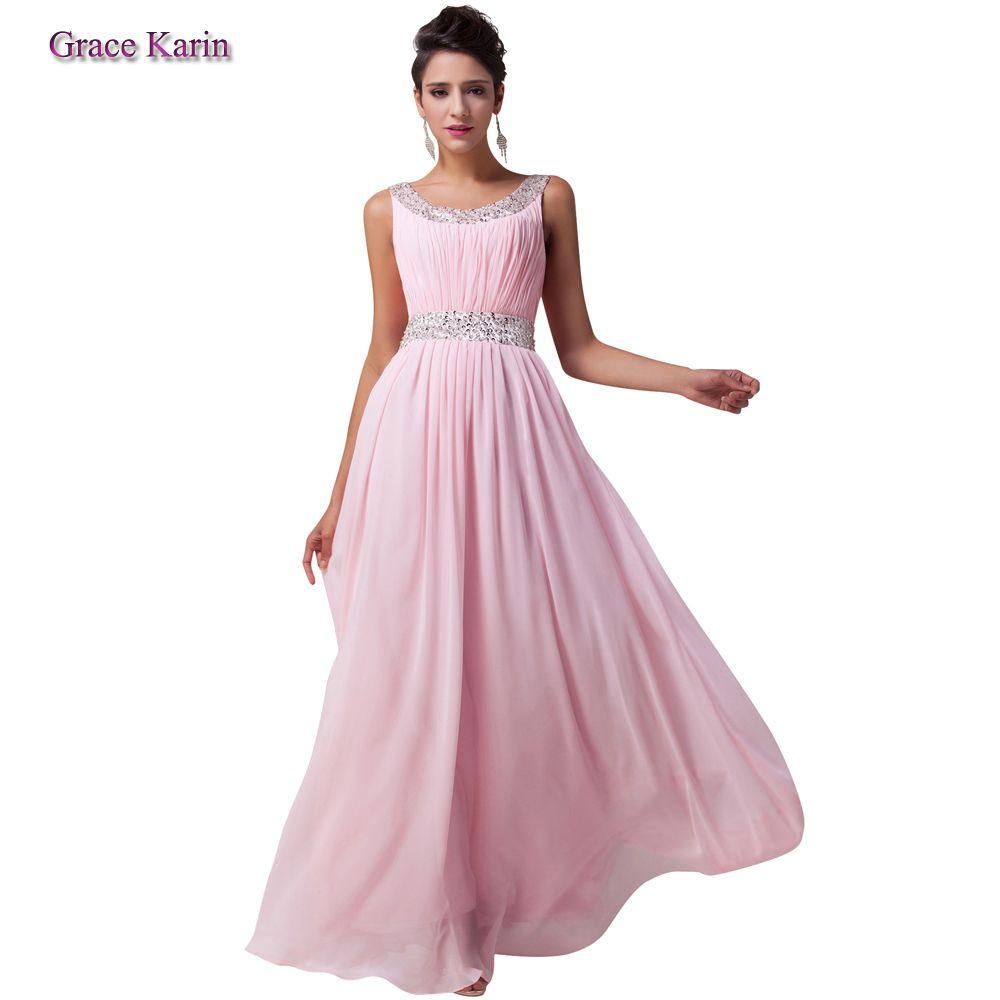 Free Shipping 2014 Grace Karin Women Elegant Sexy Ball Prom Floor ...