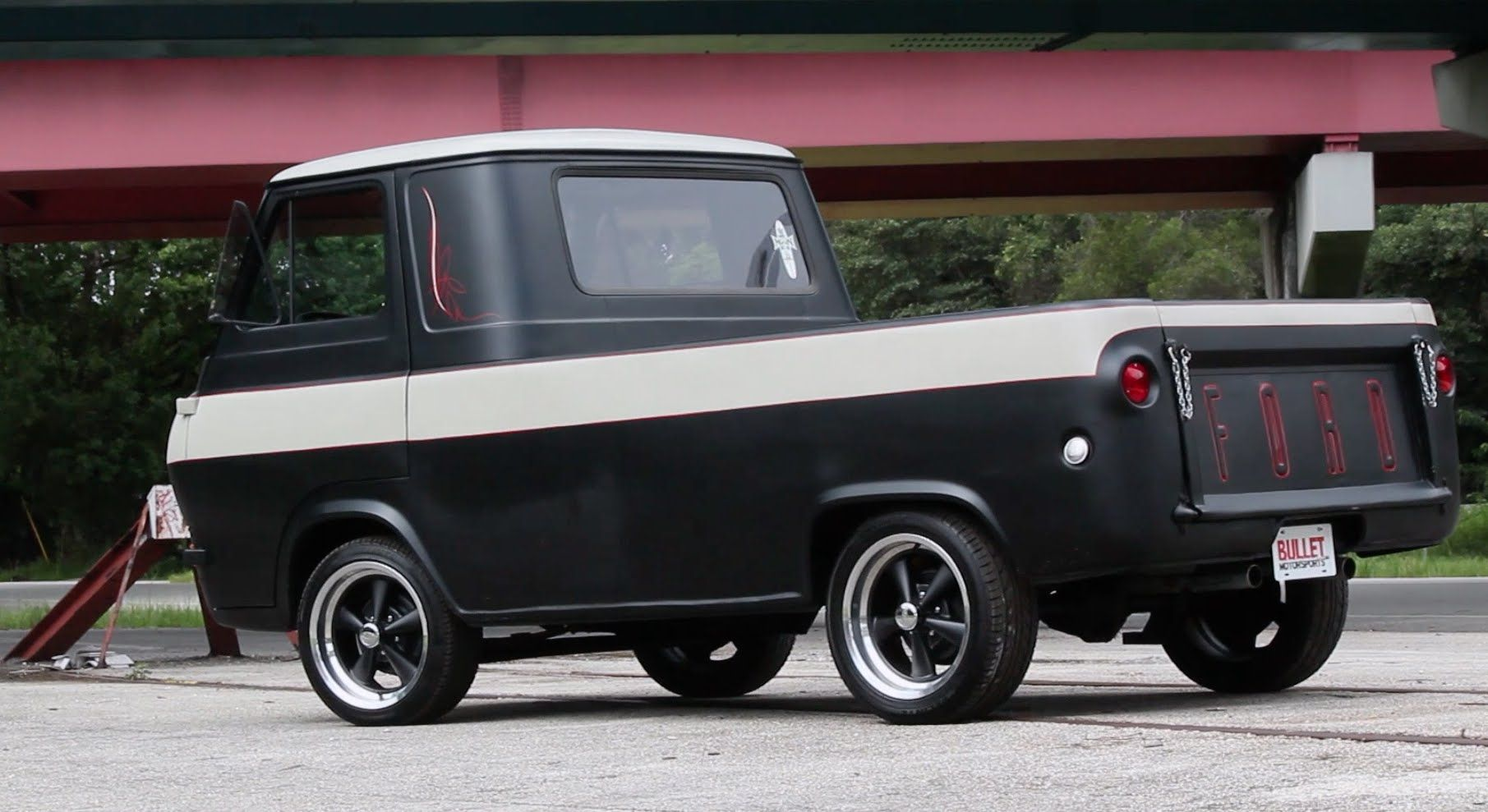 1963 ford econoline pickup hotrod test drive youtube