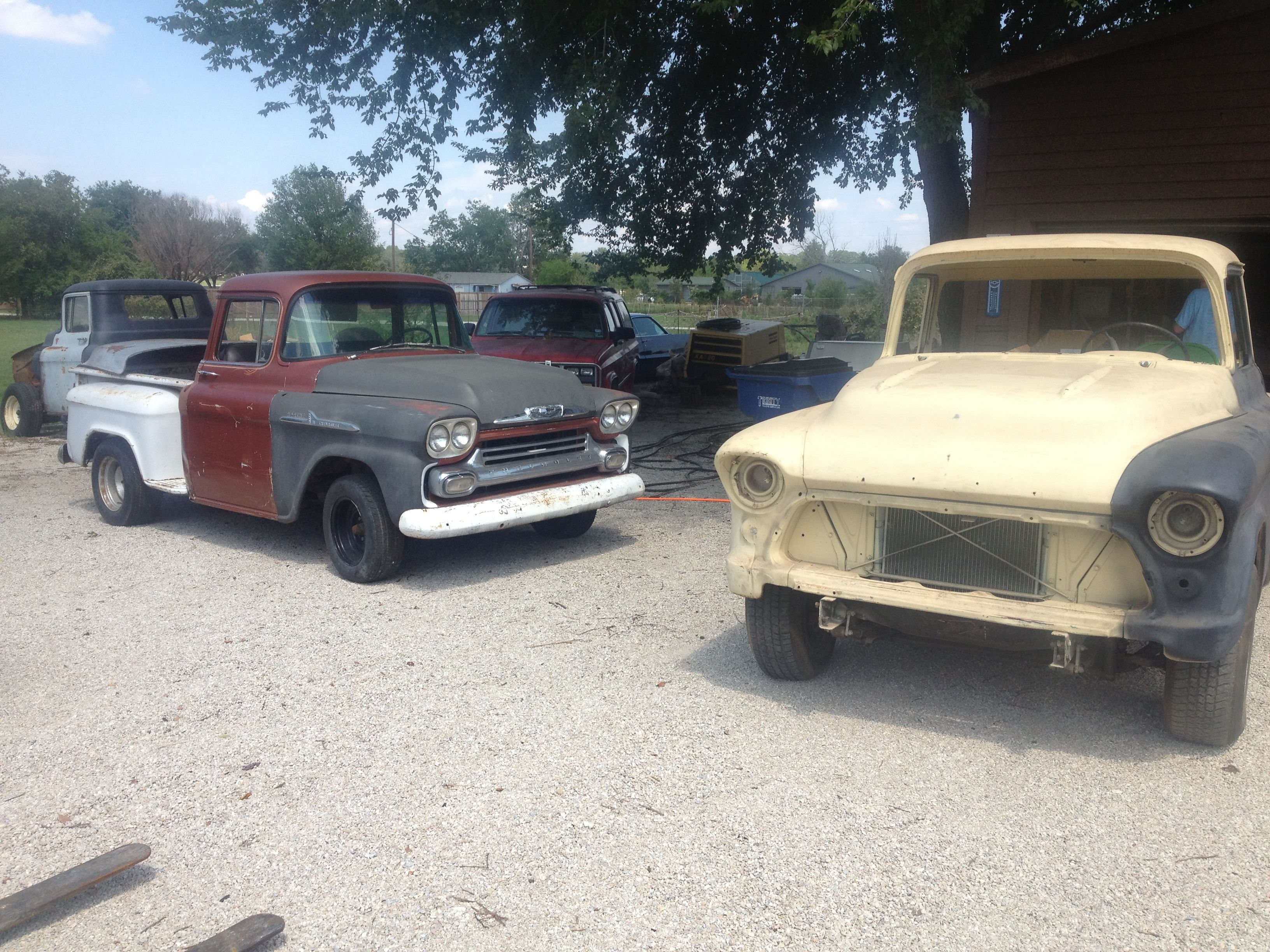 Current projects under construction! Love old Chevys! | Weezer\'s ...
