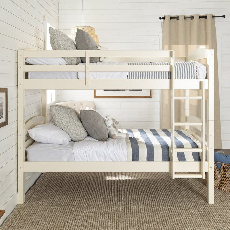 Abby Twin Over Twin Bunk Bed In 2020 Twin Bunk Beds Twin Loft Bed Bunk Beds