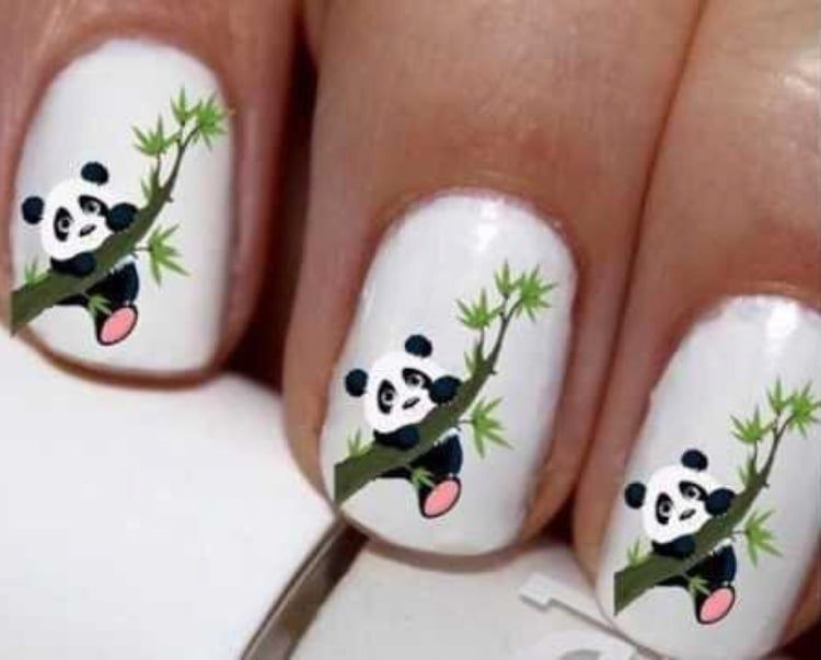 60 Cute Cartoon Animal Nail Art For Kids In 2019 Page 8 Of 60