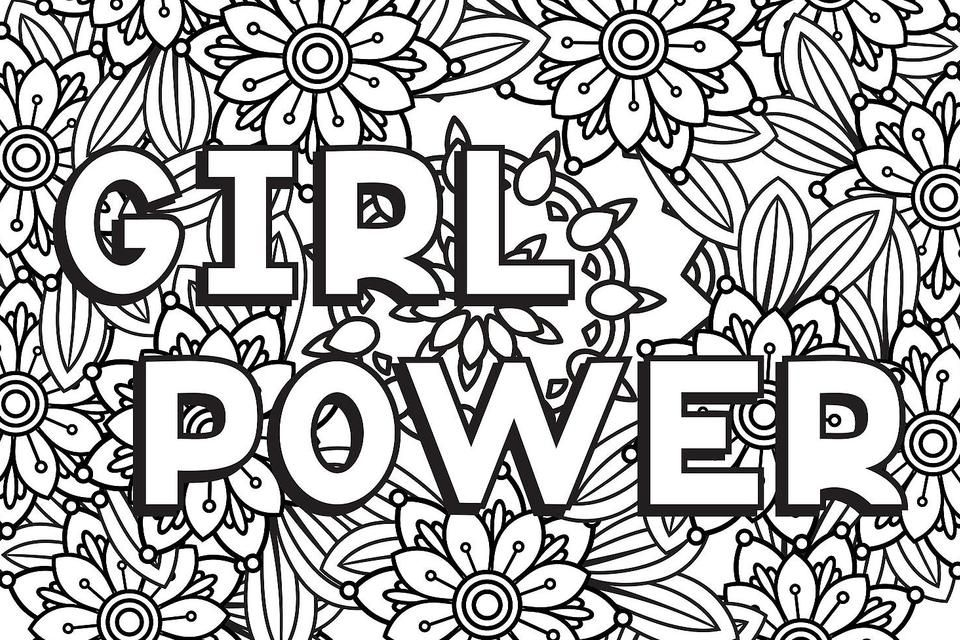 Strong Women Coloring Pages 10 Printable Coloring Pages For Badass Women Who Are Changing The World Printables 30seconds Mom Printable Coloring Pages Puppy Coloring Pages Cool Coloring Pages