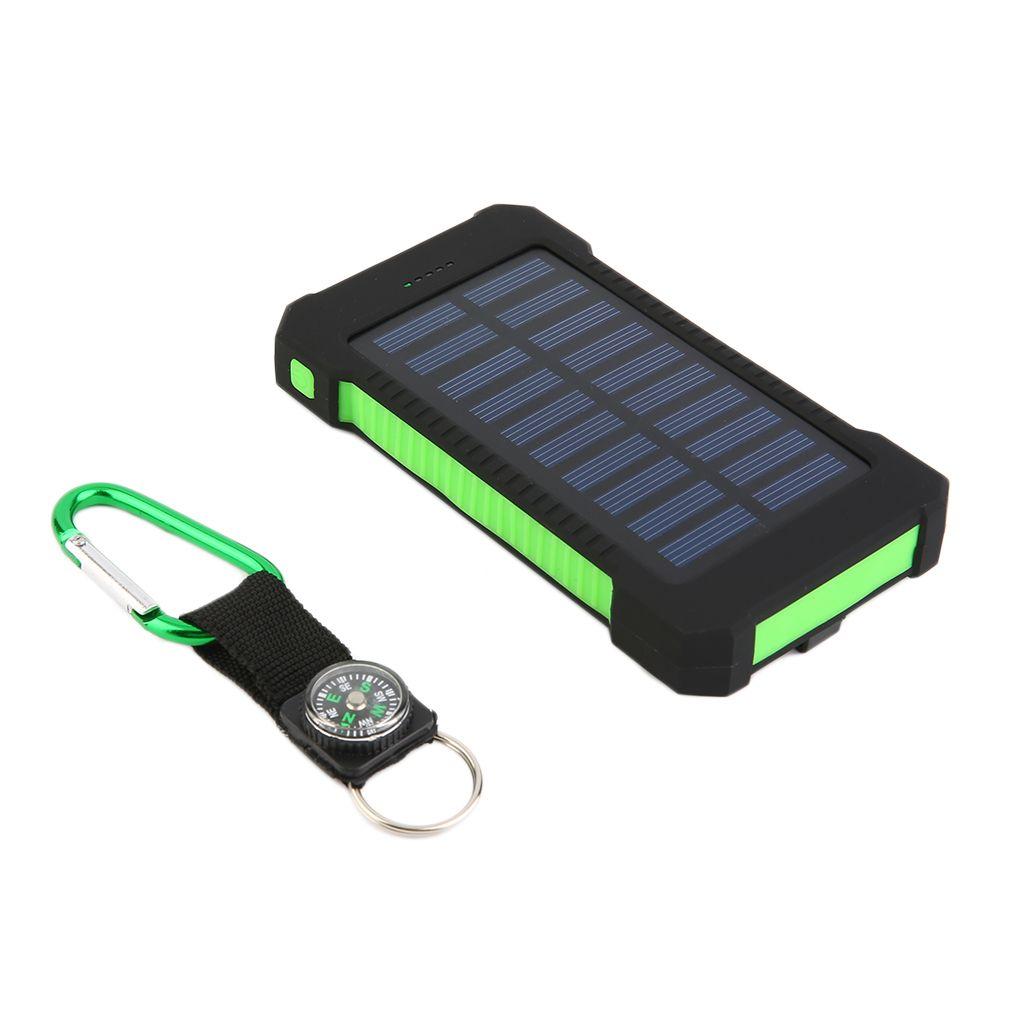 300000mah Dual Usb Portable Solar Battery Charger Solar Power Bank Walmart Com Solar Battery Charger Solar Power Bank Solar Battery
