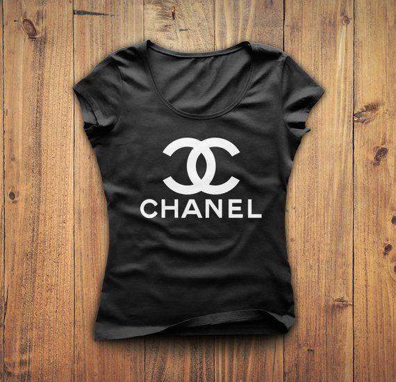 bd71840be47 Chanel Shirt, Coco Chanel tshirt, Chanel t-shirt, Gucci shirt, Chanel t  shirt, women's Chanel tshirt