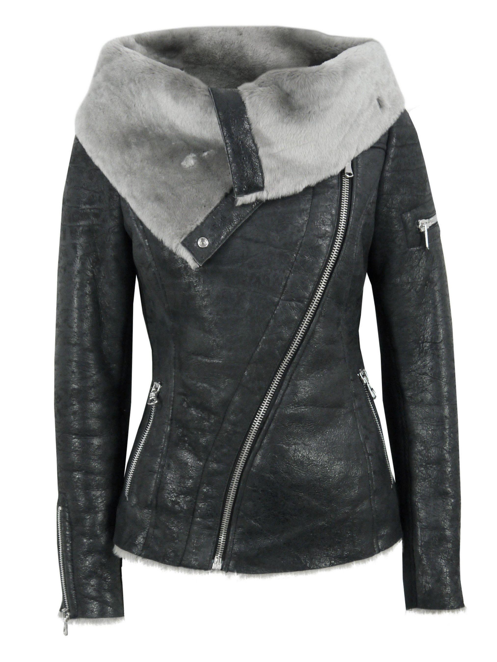 12671e22d136 Sale - Ash Arnelle Black Leather Biker Jacket at Coggles