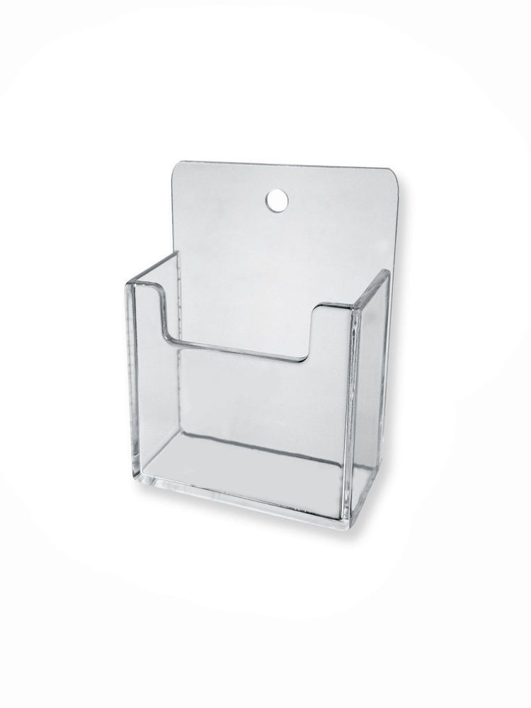 Business Card Holder Wall Mount Clear Vertical Acrylic Hang Office Wall Unb Business Card Holder Display Vertical Business Card Holder Vertical Business Cards
