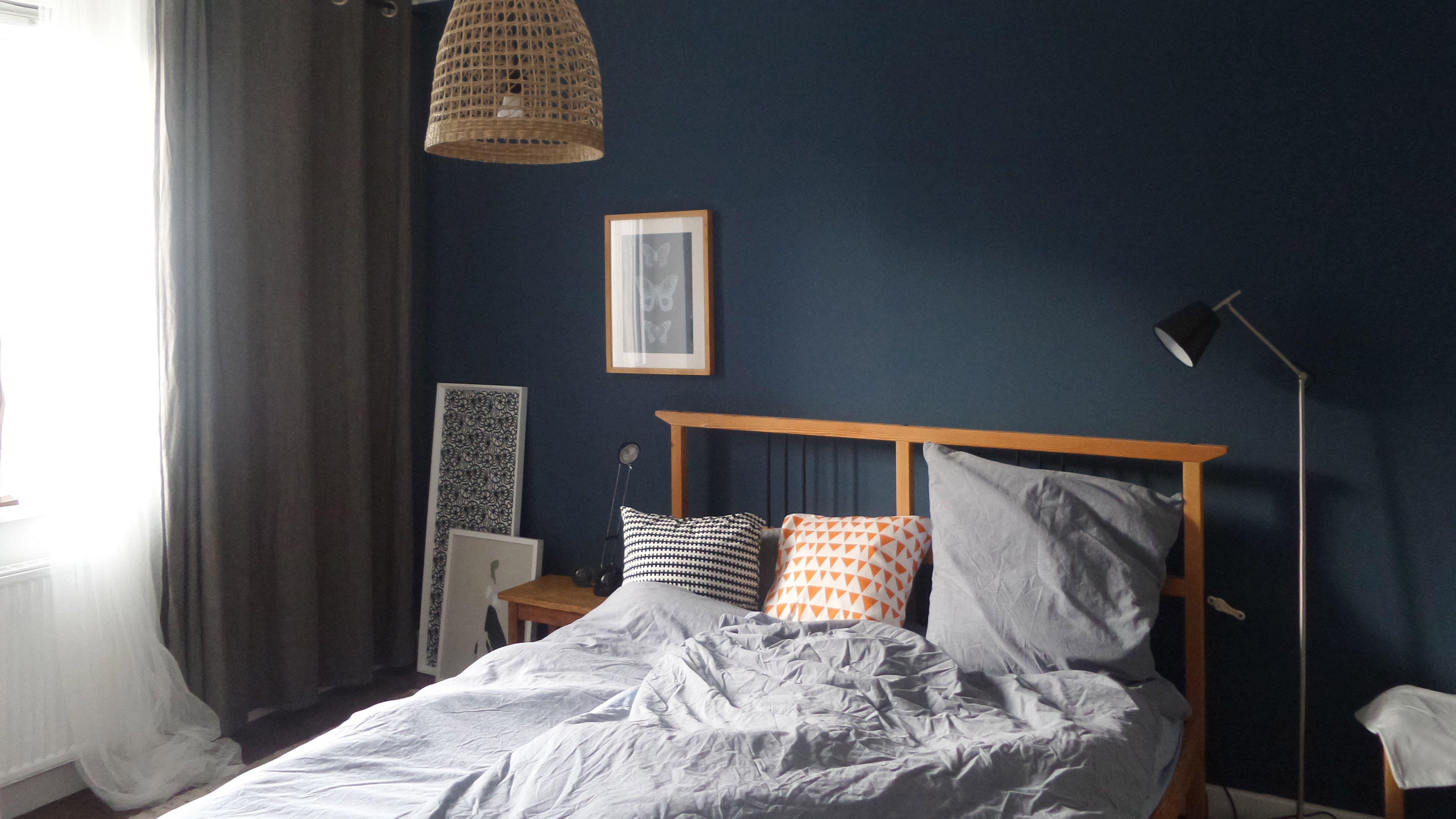 Schlafzimmer Deko Blau