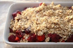 Recipe: Gluten-Free Rhubarb Raspberry Strawberry Crisp The post Page not found W…