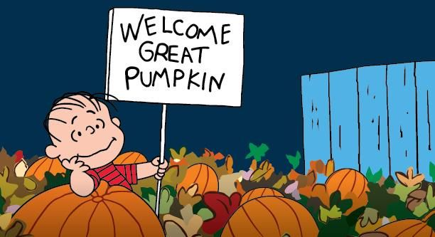 """Don't miss """"It's The #GreatPumpkin, Charlie Brown"""" - tonight at 8PM ET on ABC!"""