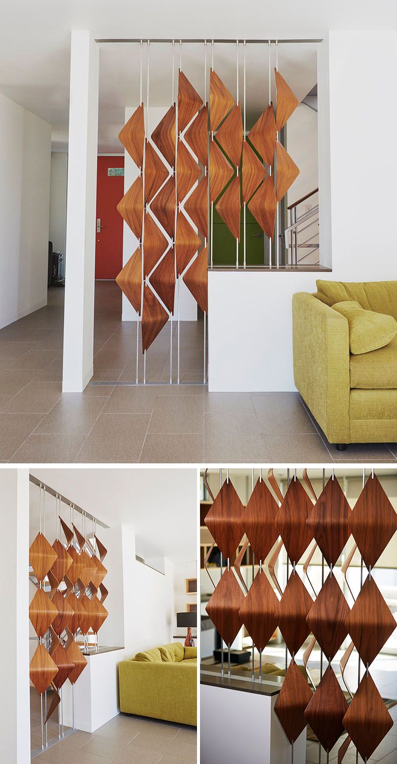 These Walnut Wood Shades Create A Sculptural Look For Windows