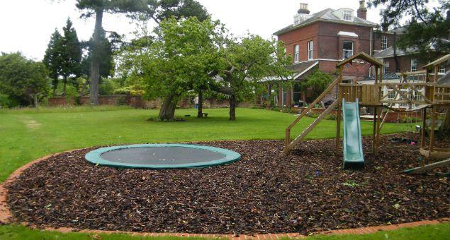 Garden Design With Trampoline sunken trampoline and play area | outdoor | pinterest | sunken