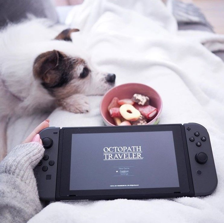 """There is no shame in not knowing an answer, so long as you're willing to learn."" Con ganitas de jugar al #octopathtraveler 📷 IG @ronjasiiin #nintendoswitch #videogames #gaming"