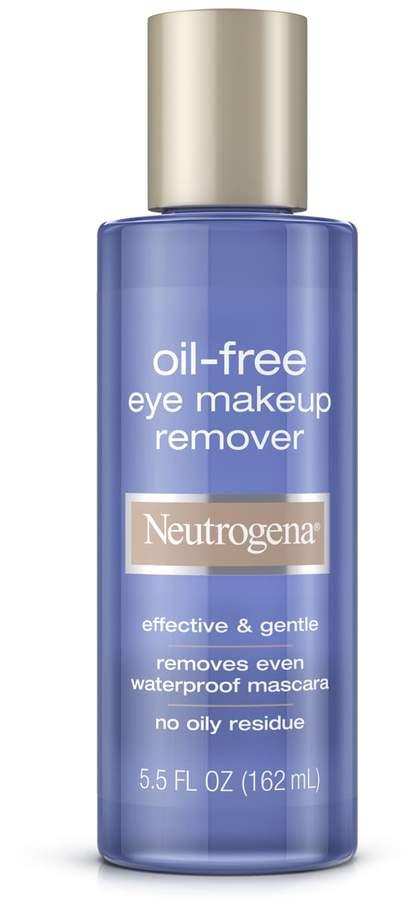 Neutrogena Oil Free Gentle Eye Makeup Remover 5 5 Fl Oz In 2020 Gentle Eye Makeup Remover Eye Makeup Remover Oil Free Eye Makeup Remover