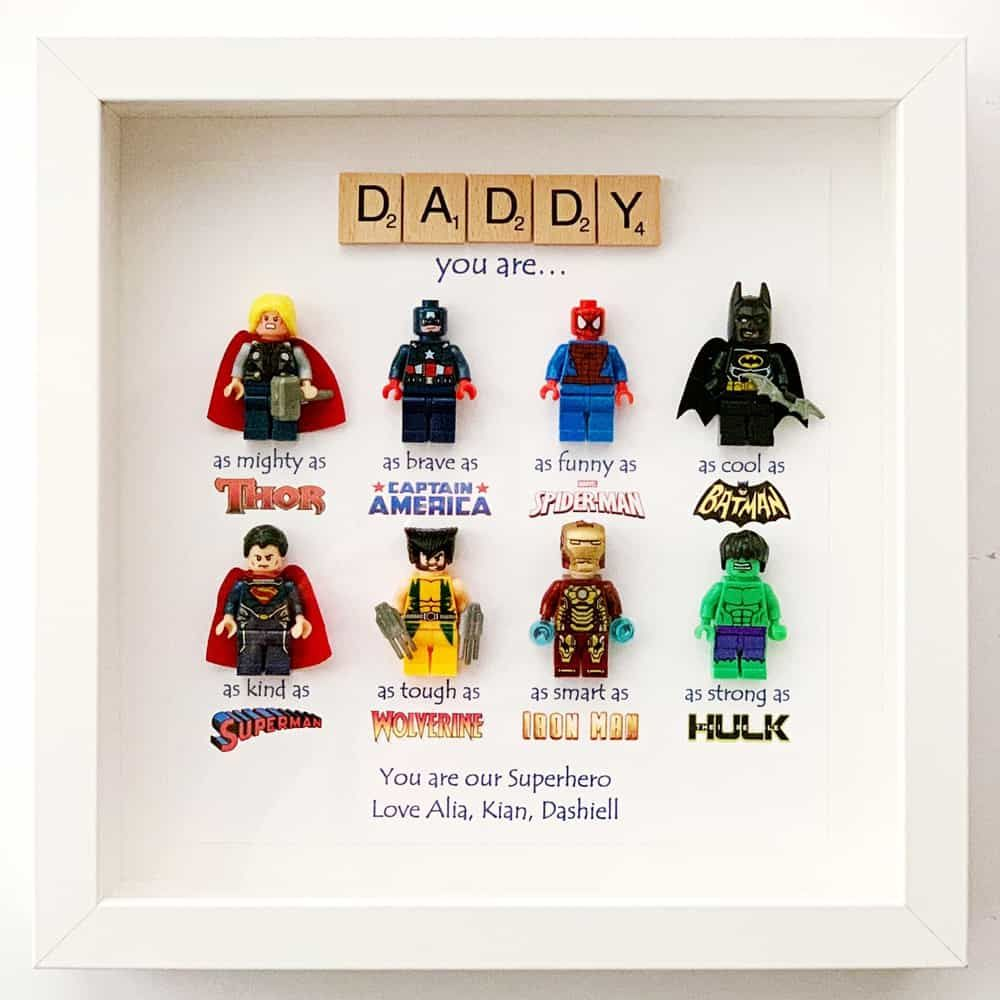 Dad Superhero Frame Father S Day Gift Hello Wonderful Super Hero Dad Superhero Gifts Fathers Day Gifts