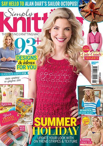 Ravelry Simply Knitting 148 August 2016 Handwerk Breienhaken