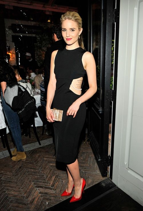 Image result for dianna agron wearing dress