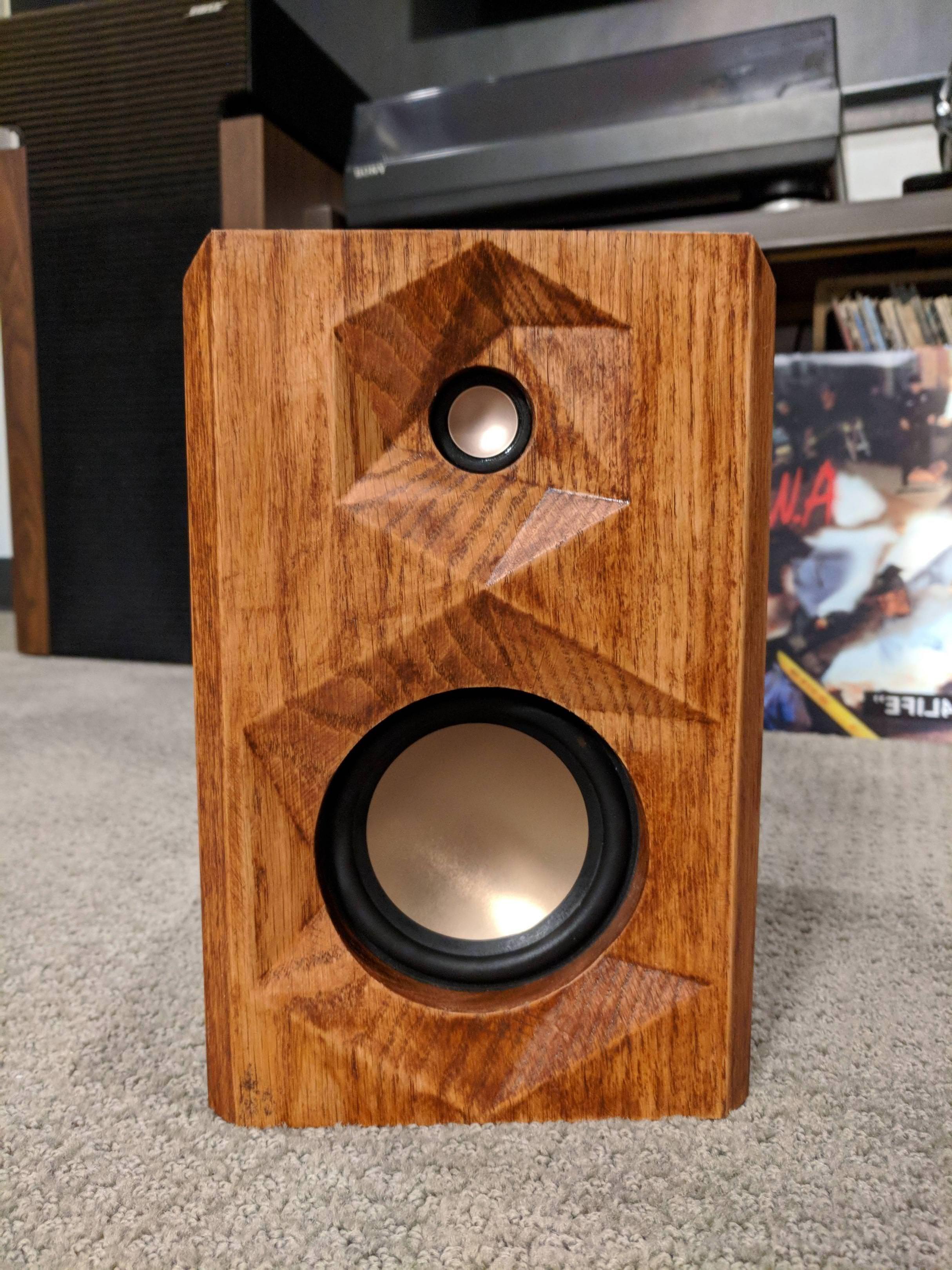 Bookshelf Speaker Build handmade crafts HowTo DIY