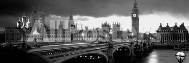 London landscapes photographic print 107 x 36 cm