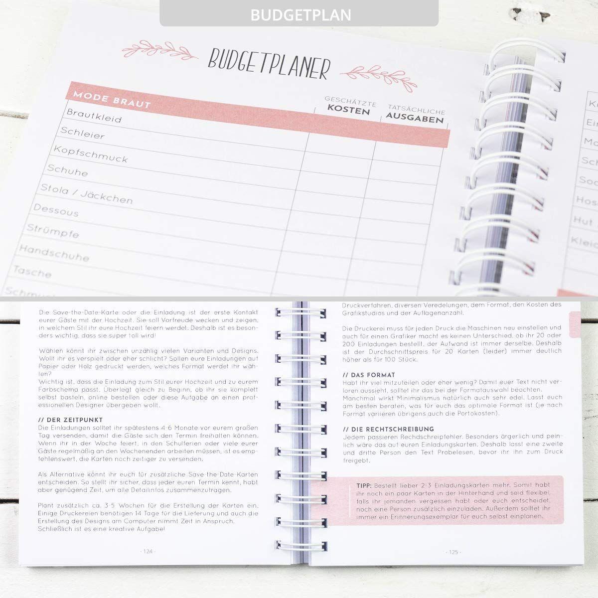 2020 Dein Hochzeitsplaner Buch Ein Buch Zur Planung Und
