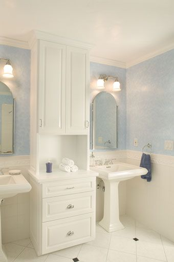 1920s bathroom remodel google search - Bathroom Remodel Double Sink