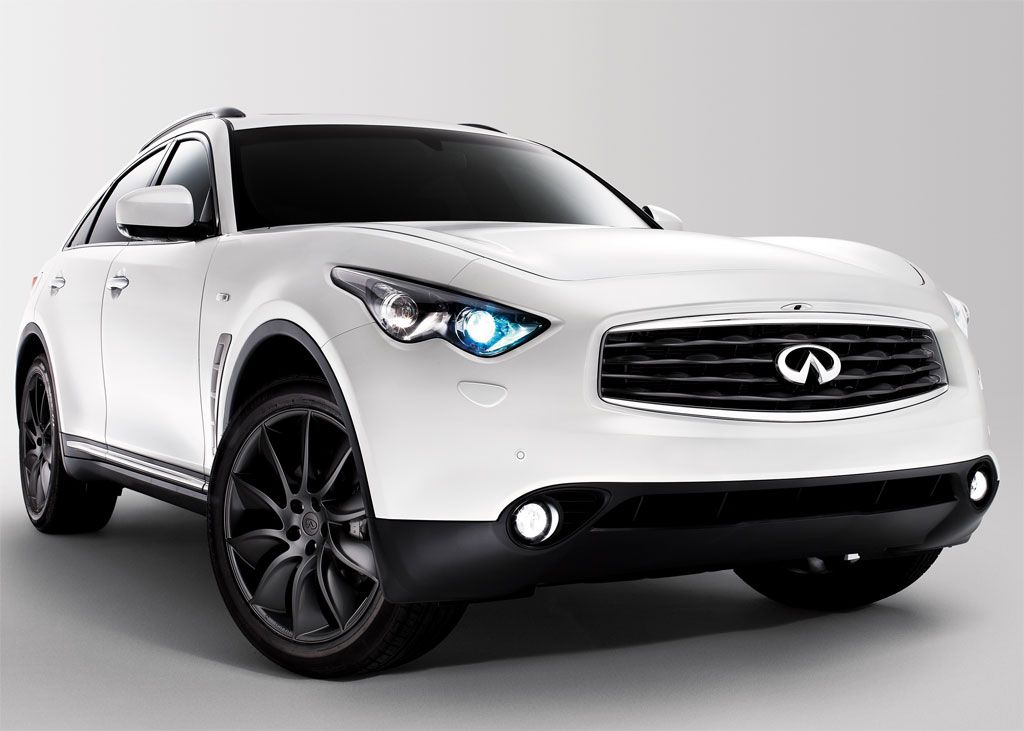 One Of My Dream Cars Infiniti Fx50s Limited Edition Pearl White