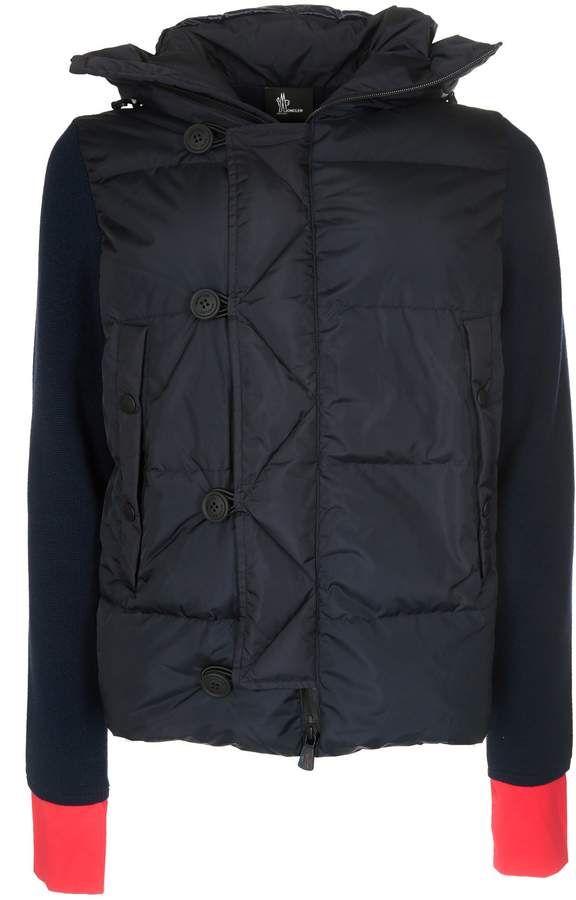 moncler padded panel jacket products pinterest moncler mens rh pinterest com