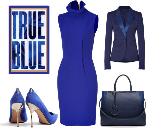 """""""Sapphire Nights"""" by latoyacl ❤ liked on Polyvore"""