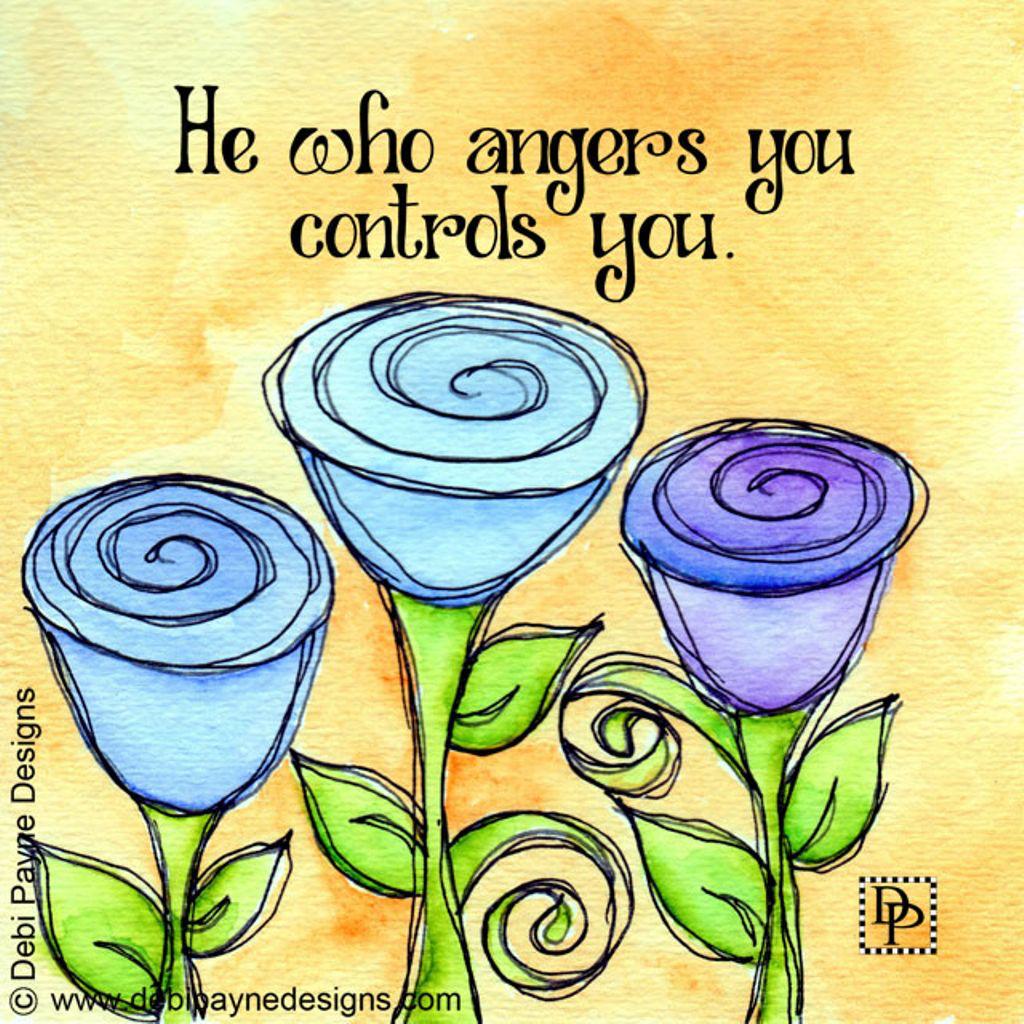 He who Angers You by Debi Payne