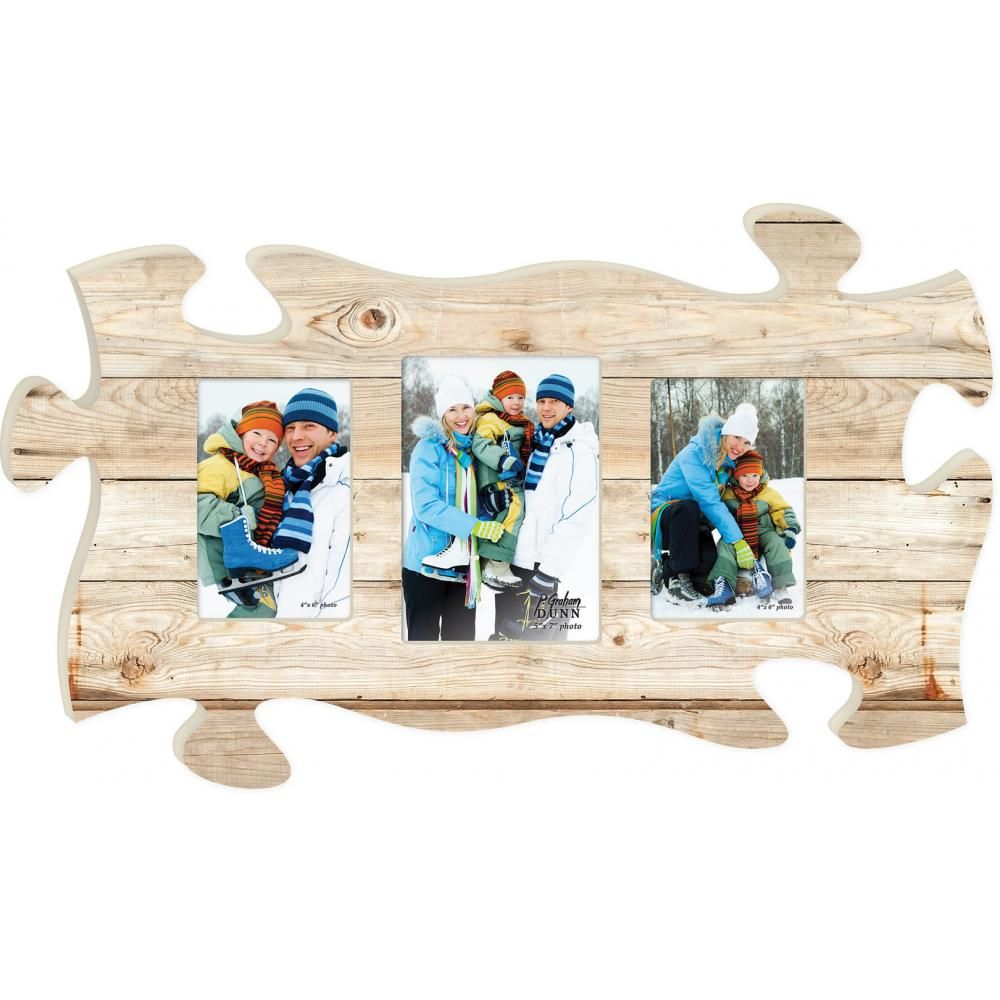 Puzzle Photo Frame | P. Graham Dunn Available at Yum Yum Tree | P ...