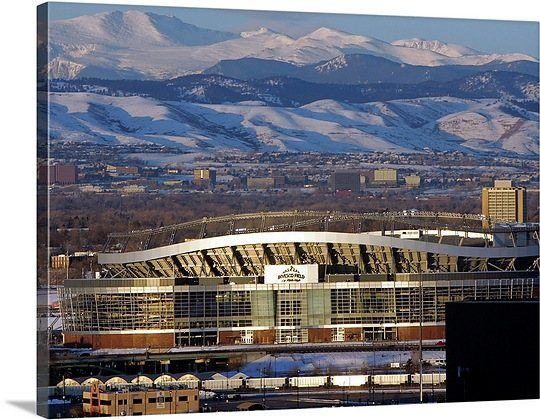 The rocky mountains at sports authority field at mile high stadium the rocky mountains at sports authority field at mile high stadium malvernweather Gallery