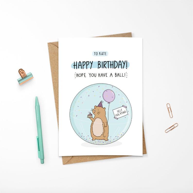 Hamster Bird Happy Bird Day Birthday Card Zazzle Com Happy Bird Day Hamster Birthday Cards