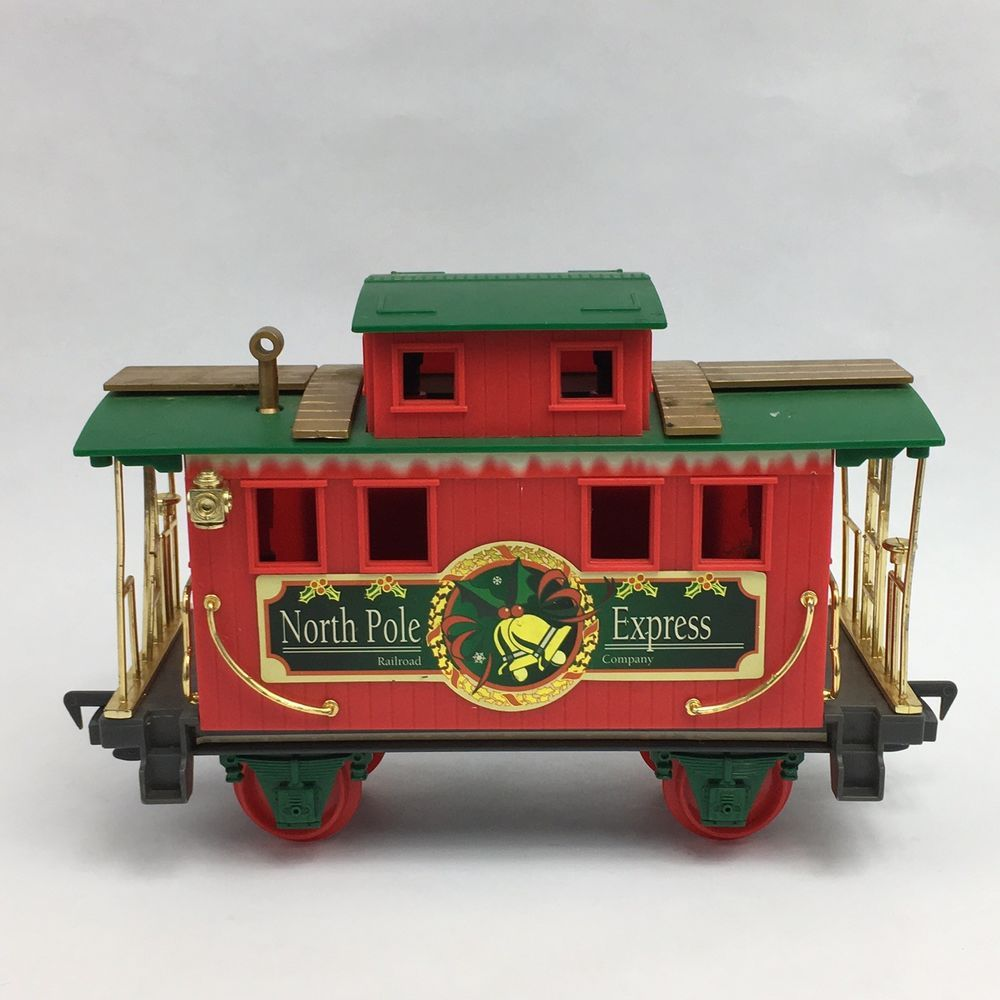 Details about Scientific Toys North Pole Express Christmas Train Set ...