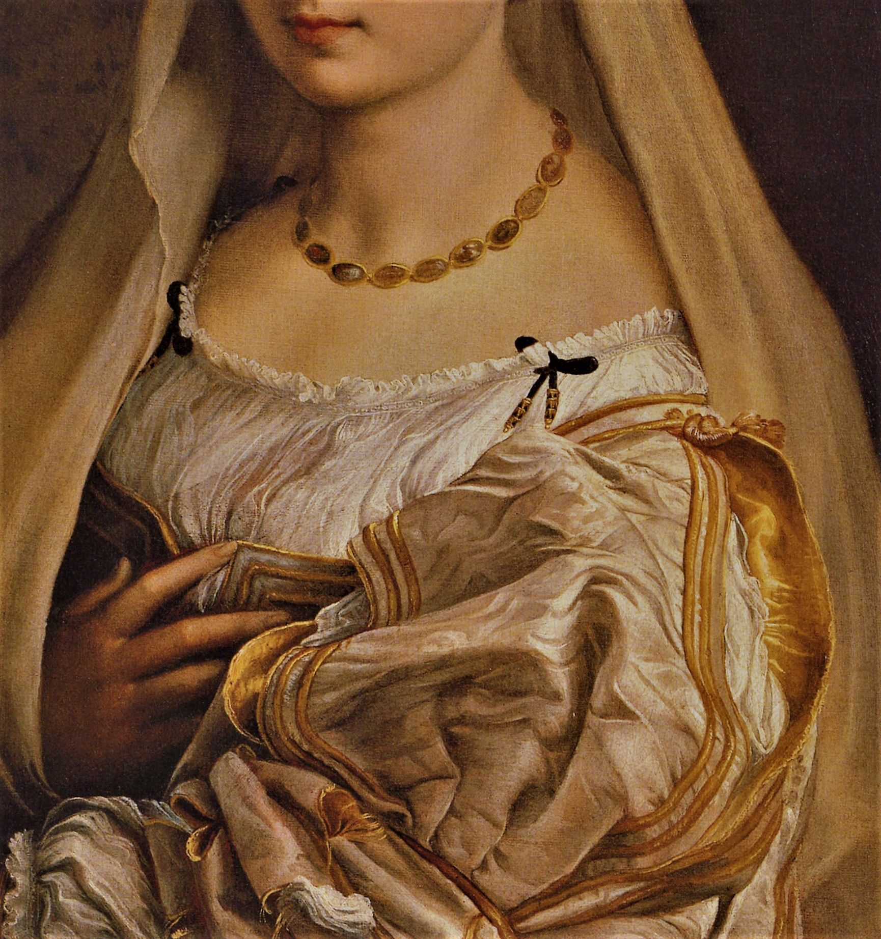 Portrait of a Woman with a Veil by Raphael