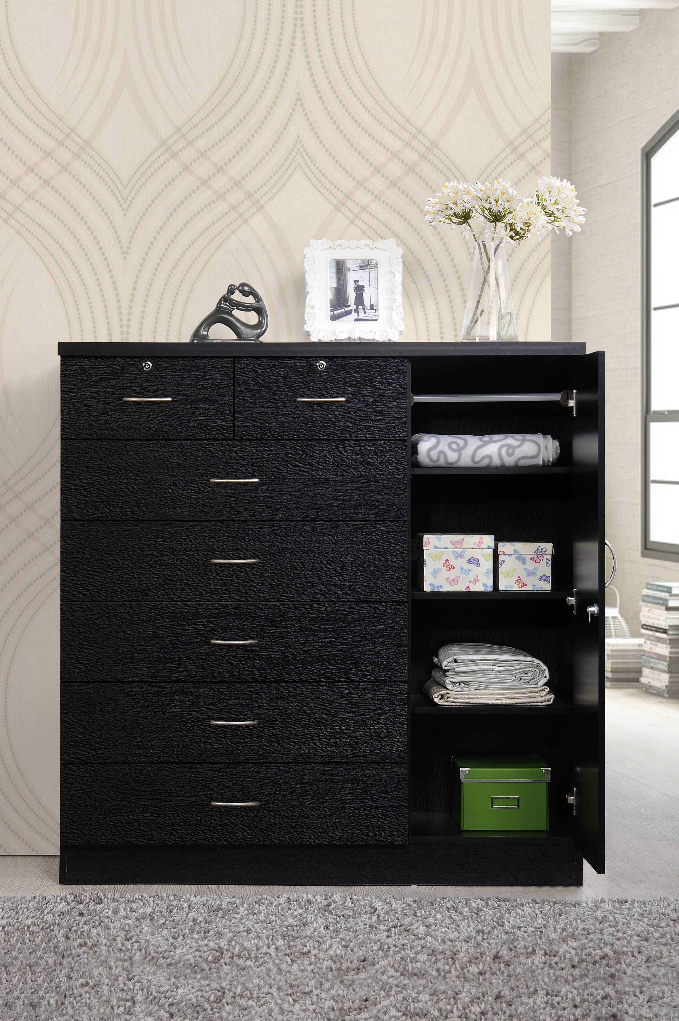 Chest Of Drawers Furniture Bedroom Dresser Storage Cabinet Clothes Organizer