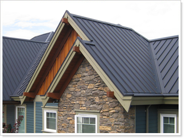 Best Interlock Standing Seam Roofing Charcoal Grey Our Home 400 x 300