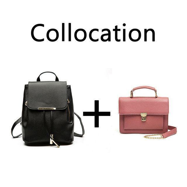 Mini Women's Shoulder Bag Fashion PU Leather Chain Messenger Cross body Flap Bags
