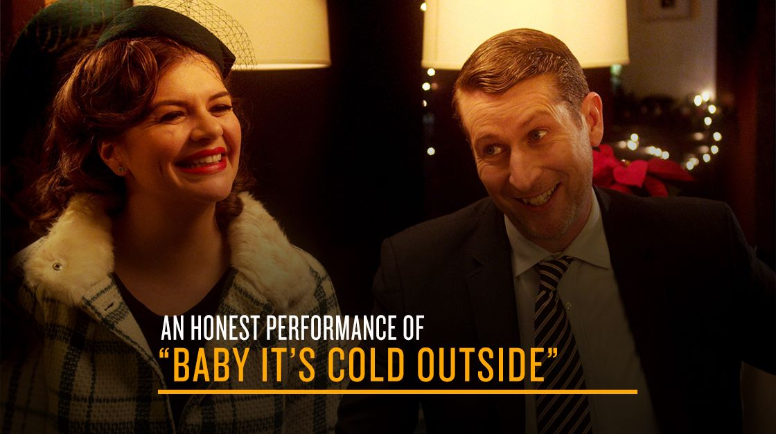 """An Honest Performance Of """"Baby It's Cold Outside"""" 