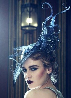 Lulu. Couture Collection.Extravagant Sinamay
