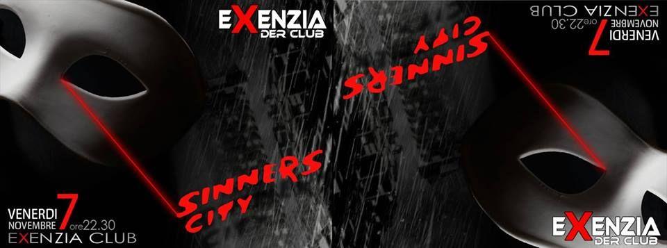 Sinners City – Synthetic Men live + Dj set @ Exenzia Club Prato