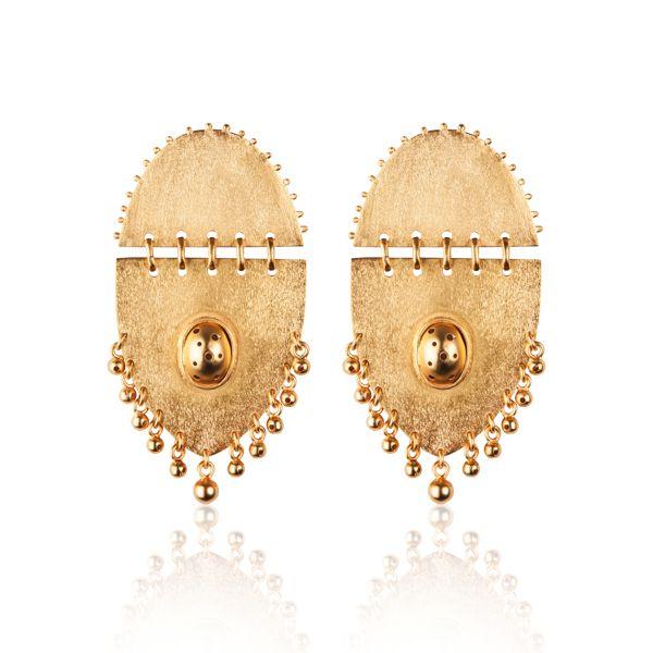 Jarama Earrings Paula Mendoza Contemporary Colombian Jewelry