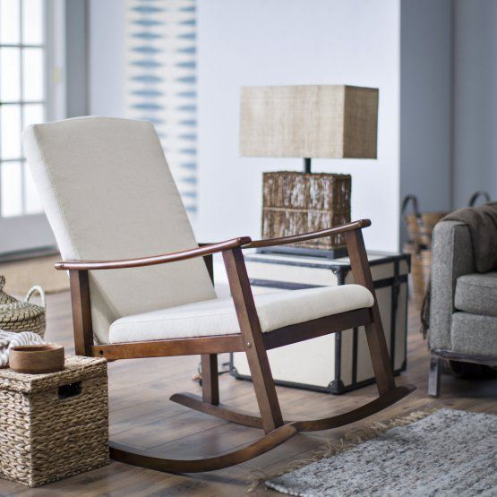 Rocking Chair Upholstered