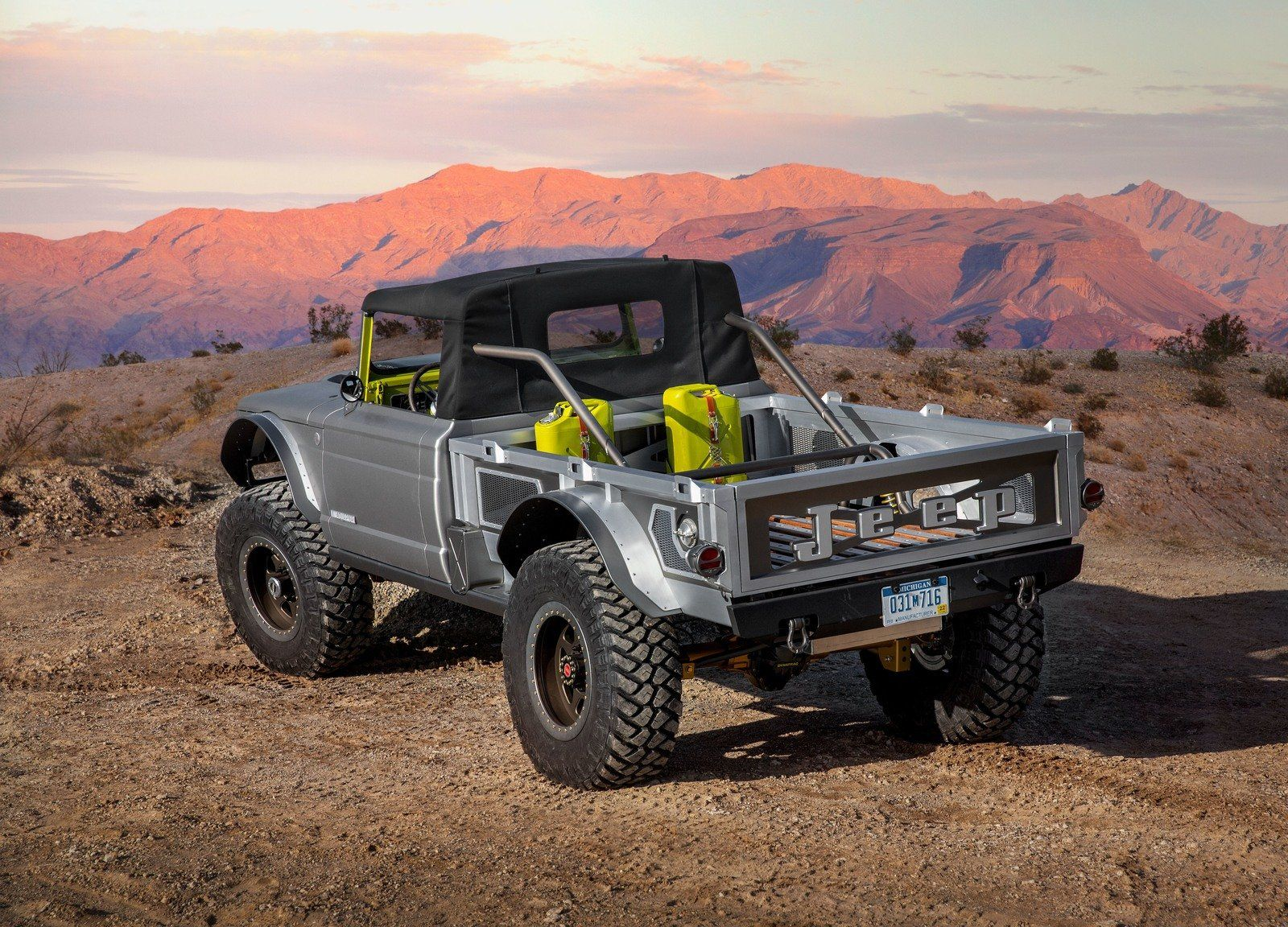 2019 Jeep Gladiator M 715 Five Quarter Top Speed Jeep Concept