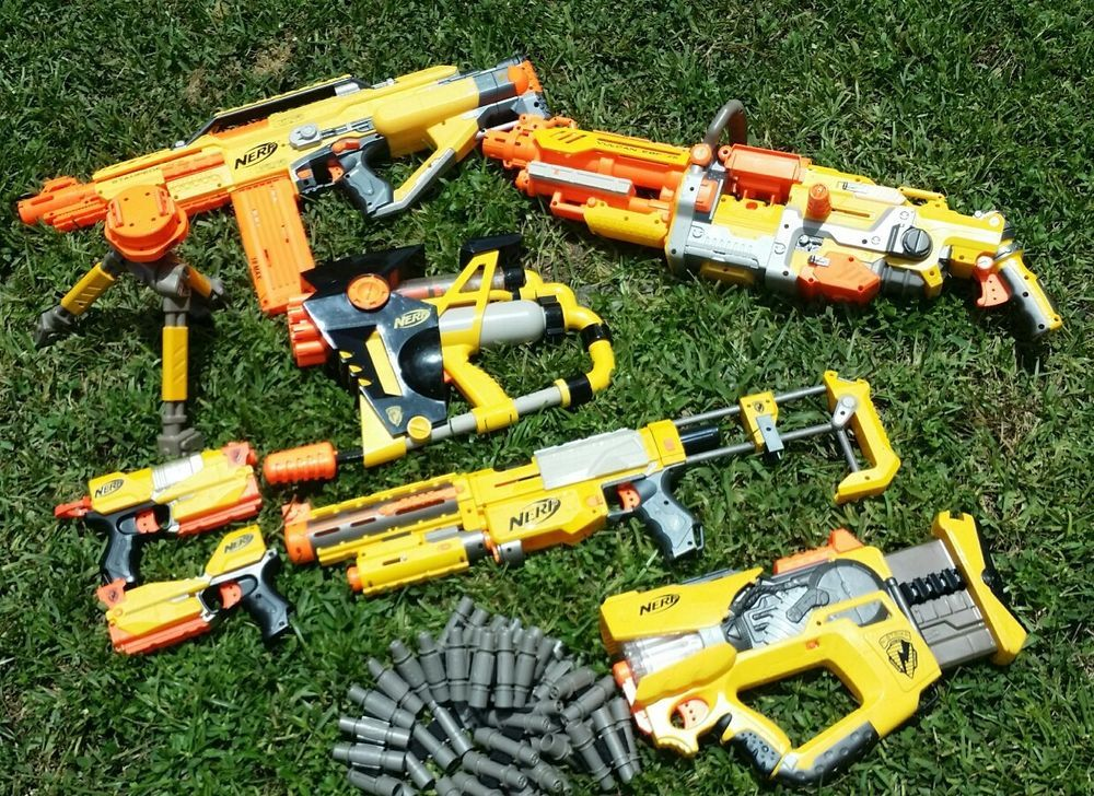 2018 Plastic Nerf Guns Toy +3 Nerf Foam Bullets Imitation For Kids Safe  Soft Missile Gun Military Simulation Toy From Crazyaa, $20.57 | Dhgate.Com
