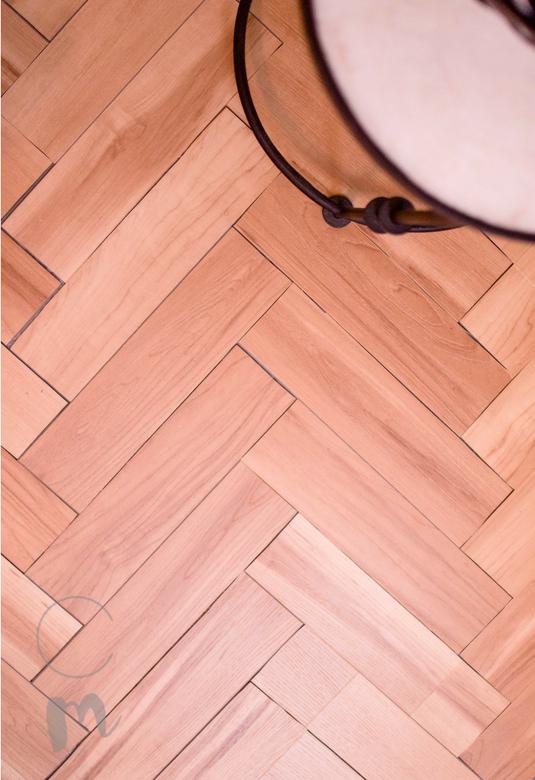 Diy Temporary Flooring A Herringbone Wood Tutorial Flooring Wood Hardwood Floors