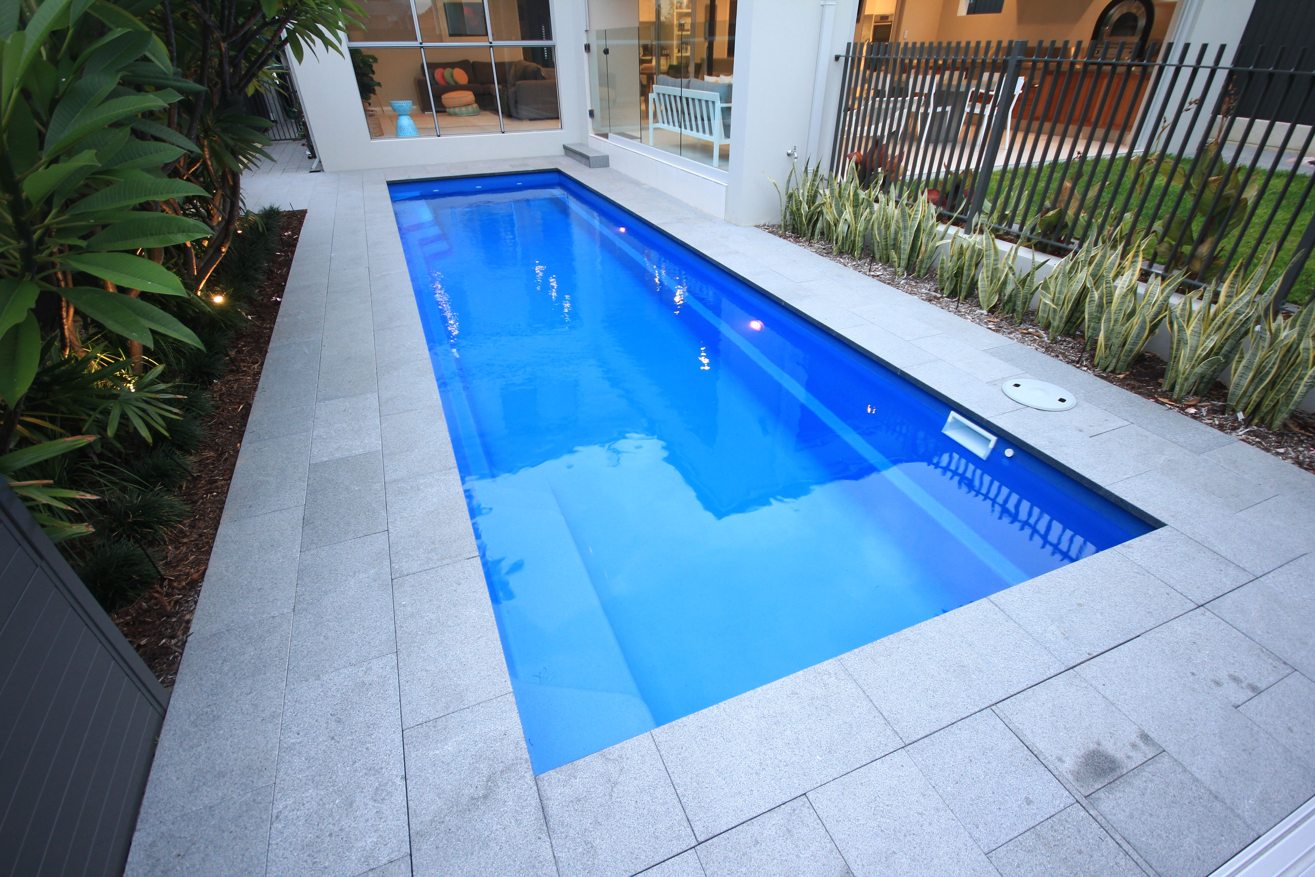 Duke 11 0m X 2 5m Fiberglass Swimming Pools Swimming Pools Pool