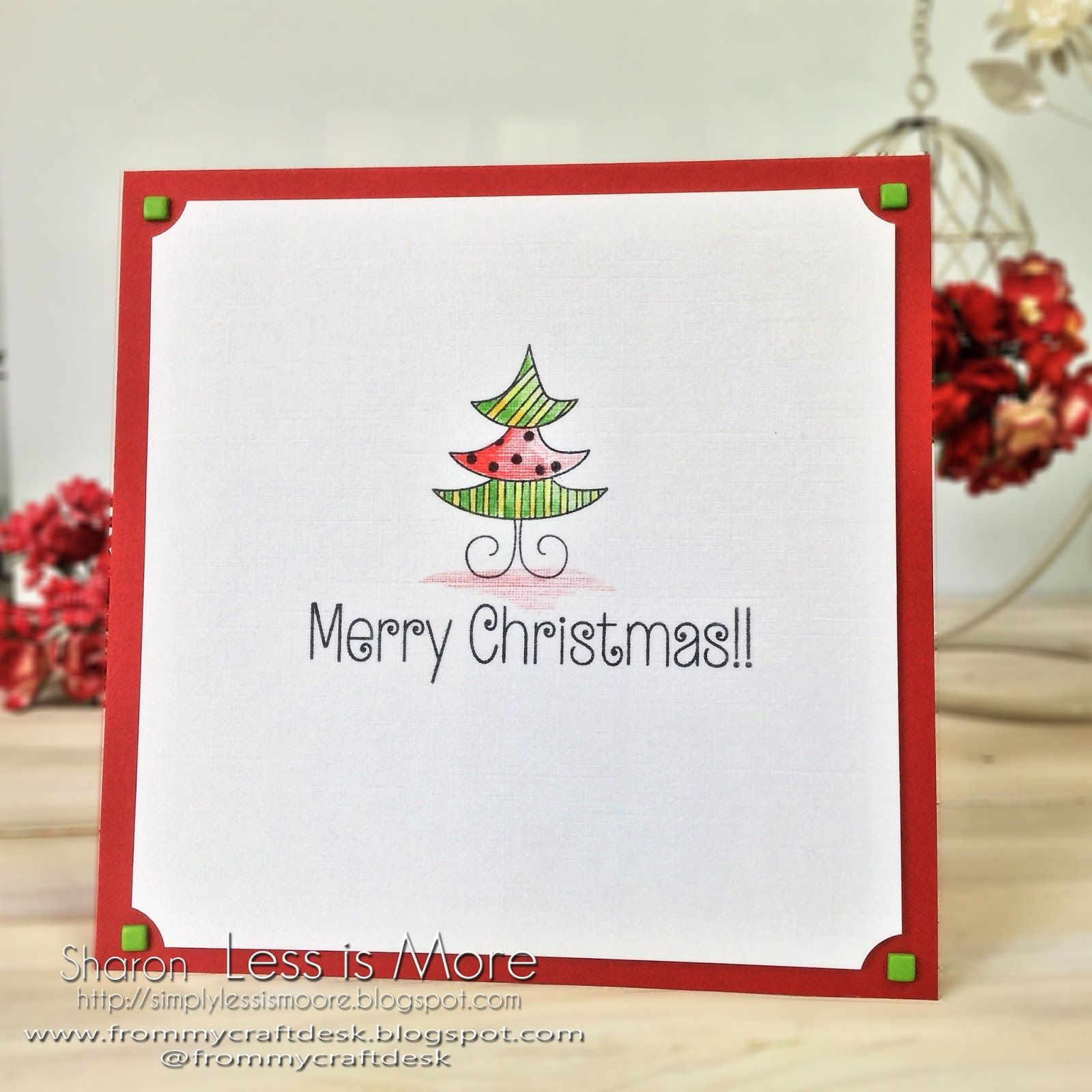 Ive used the portuguese flag colours to create this sweet ive used the portuguese flag colours to create this sweet christmas card that uses kristyandbryce Gallery