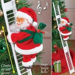 Climbing Santa Claus Best Christmas Present Inhomepi Decorazioni Luminose Natalizie Idee Natale Fai Da Te Festa Di Natale