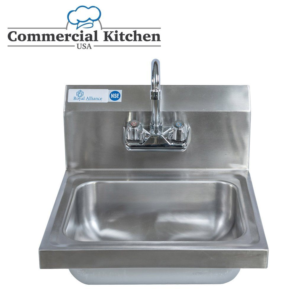 Stainless Steel Wall Mount Hand Sink 15 Steel Wall Sink Sinks For Sale