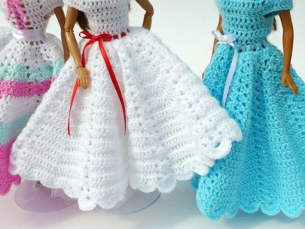 Häkelanleitungen für Puppenkleidung Serie \