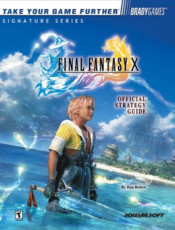 Final Fantasy X Official Strategy Guide Brady Games Signature